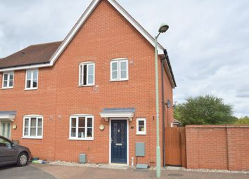 Thumbnail 3 bed semi-detached house to rent in Blackbird Drive, Bury St. Edmunds