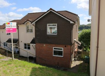 Thumbnail 2 bed end terrace house for sale in Biscombe Gardens, Saltash