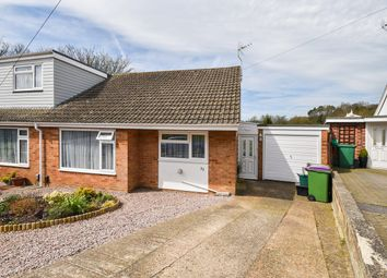 Thumbnail 2 bed semi-detached bungalow for sale in Valestone Close, Hythe
