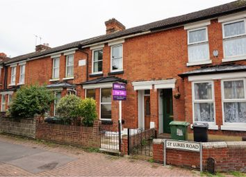 Thumbnail 3 bed terraced house for sale in St. Lukes Road, Maidstone