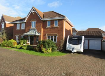 Thumbnail 4 bed detached house for sale in Blanchard Close, Wootton, Northampton