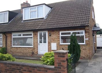 Thumbnail 4 bedroom semi-detached bungalow to rent in Hazel Garth, York