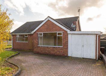 Thumbnail 3 bed detached bungalow to rent in Hazel Grove, Biddulph Moor, Stoke-On-Trent