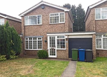 Thumbnail 3 bed detached house for sale in Mercia Close, Tamworth, Staffordshire