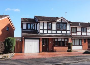 Thumbnail 3 bed detached house for sale in Deepdale Lane, Sinfin, Derby