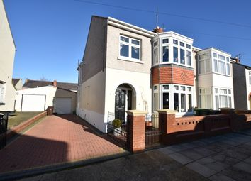 Thumbnail 4 bed semi-detached house for sale in Madeira Road, Copnor, Portsmouth