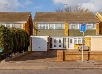 Thumbnail 3 bed semi-detached house for sale in Ozonia Way, Wickford, Essex
