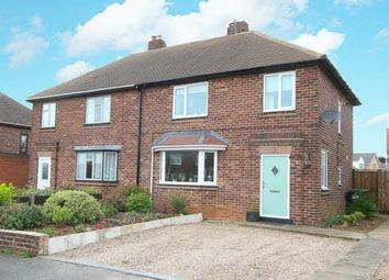 Thumbnail 3 bed semi-detached house for sale in Clune Street, Clowne, Chesterfield, Derbyshire