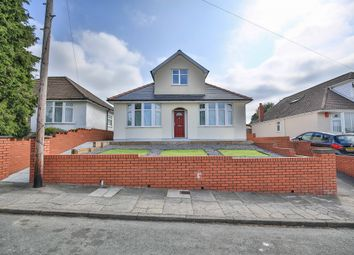 Thumbnail 4 bed detached bungalow for sale in Heol Stradling, Whitchurch, Cardiff