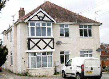 Thumbnail 1 bed flat to rent in Uppleby Road, Parkstone, Poole