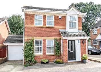 Thumbnail 3 bed detached house for sale in Lichfield Close, Kempston, Bedford