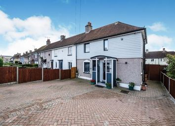 Thumbnail 3 bed end terrace house for sale in Cosham, Hampshire, England