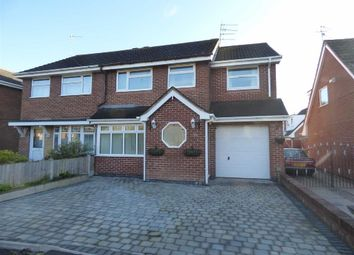 Thumbnail 3 bed semi-detached house for sale in Derwent Crescent, Kidsgrove, Stoke-On-Trent