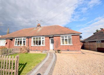 Thumbnail 2 bed semi-detached bungalow for sale in The Croft, Kegworth, Derby