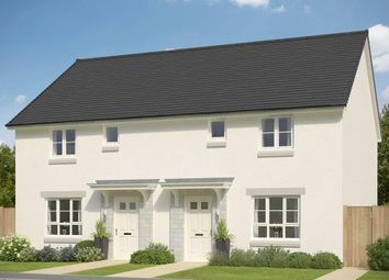 "Thumbnail 3 bedroom terraced house for sale in ""Coull"" at Mugiemoss Road, Bucksburn, Aberdeen"