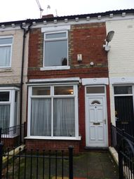 Thumbnail 2 bedroom terraced house to rent in Churchill Avenue, De La Pole Avenue, Spring Bank West., Hull