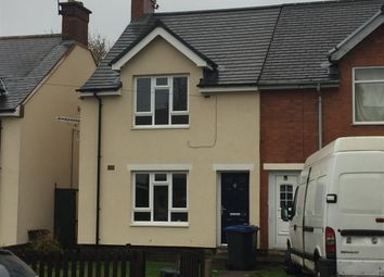 Thumbnail 2 bed end terrace house for sale in Edward Street, Hinckley