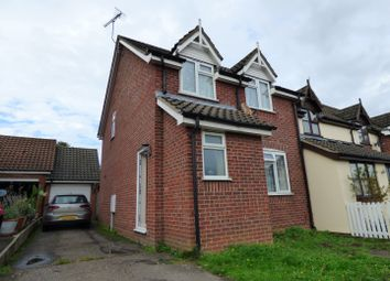 Thumbnail 3 bed terraced house for sale in Noyes Avenue, Laxfield, Woodbridge, Suffolk