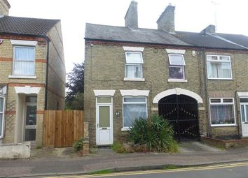 Thumbnail 3 bed terraced house for sale in Cavendish Street, Peterborough