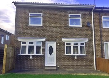 3 bed semi-detached house to rent in Quantock Place, Peterlee SR8