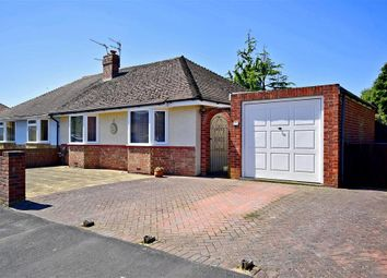 Thumbnail 2 bed semi-detached bungalow for sale in Irene Avenue, Lancing, West Sussex