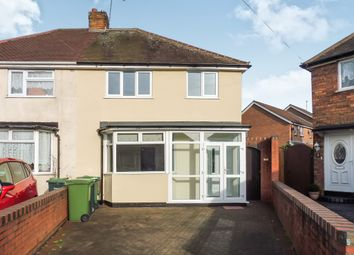Thumbnail 3 bedroom semi-detached house for sale in Keys Crescent, West Bromwich
