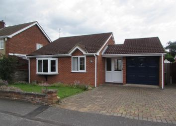 Thumbnail 2 bed detached bungalow for sale in Laurel Road, Blaby, Leicester