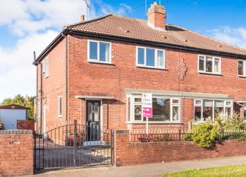 Thumbnail 3 bed semi-detached house for sale in Long Crest, Pontefract