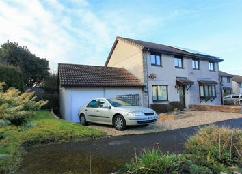 Thumbnail 3 bed semi-detached house for sale in The Firs, Whitemoor, St Austell, Cornwall