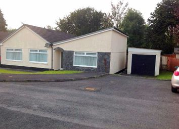 Thumbnail 3 bed bungalow for sale in Cilddewi Park, Carmarthen