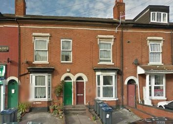 Thumbnail 1 bed flat for sale in Flats 1 & 2, 39 Crompton Road, Handsworth, Birmingham