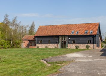 Thumbnail 5 bed barn conversion for sale in Station Road, Brampton, Beccles