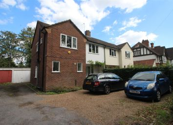 Thumbnail 3 bed semi-detached house to rent in Byfleet Road, New Haw, Addlestone