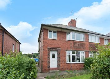 Thumbnail 3 bed semi-detached house to rent in Highbury Road, Newbold, Chesterfield
