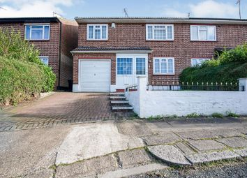 Thumbnail 3 bed semi-detached house for sale in Howcroft Crescent, Finchley