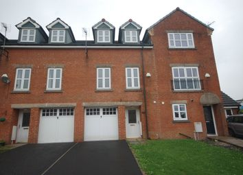 Thumbnail 4 bed town house for sale in Besant Close, Blackburn