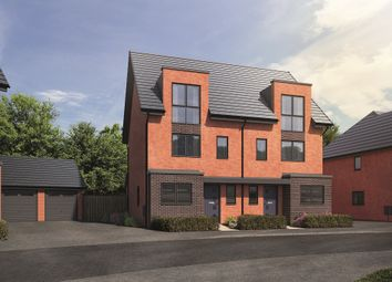 "Thumbnail 3 bed property for sale in ""The Buckingham"" at Welton Lane, Daventry"