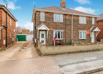 Thumbnail 3 bedroom semi-detached house for sale in Queensfield, Gainsborough