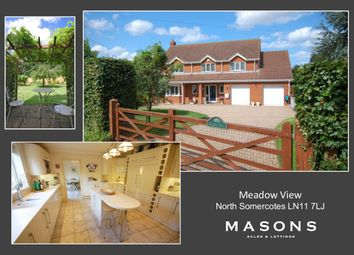 Thumbnail 4 bed detached house for sale in Bank End, North Somercotes, Louth