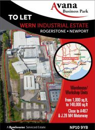 Thumbnail Industrial to let in Avana Business Park Wern Trading Estate, Newport
