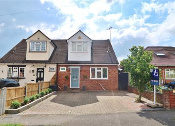 Thumbnail 3 bed semi-detached house for sale in King Georges Road, Pilgrims Hatch, Brentwood, Essex