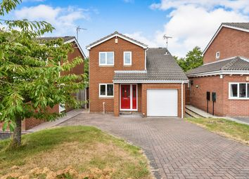 Thumbnail 3 bed detached house for sale in Hardwick Close, Ripley