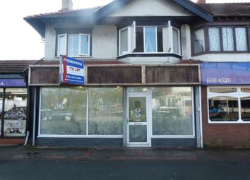 Thumbnail Commercial property for sale in Woodchurch Road, Prenton