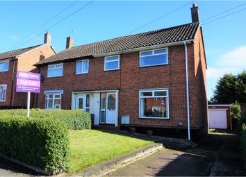 Thumbnail 3 bed semi-detached house for sale in West Avenue, Melton Mowbray
