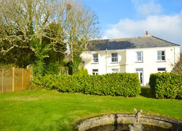Thumbnail 9 bed country house for sale in Ruan High Lanes, Truro