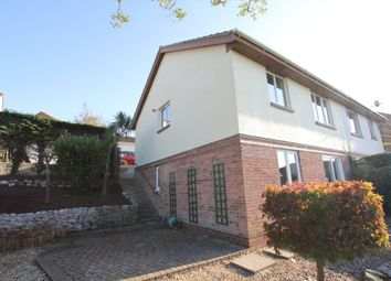 Thumbnail 3 bed semi-detached house for sale in Smallridge Close, Plymstock, Plymouth
