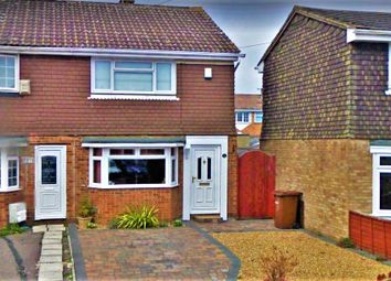 Thumbnail 2 bed end terrace house to rent in Bristol Close, Rochester