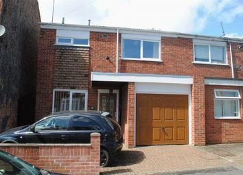 Thumbnail 3 bed semi-detached house for sale in Balmoral Road, Kingsthorpe, Northampton