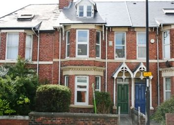 Thumbnail 4 bed terraced house to rent in Heaton Park Road, Heaton, Newcastle Upon Tyne