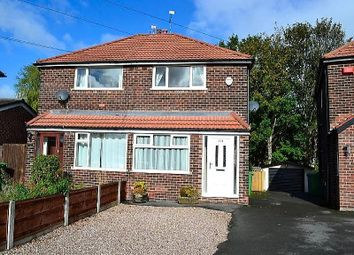 Thumbnail 2 bed semi-detached house for sale in Brunswick Road, Altrincham